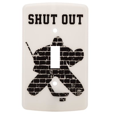 (Painted Pastimes Goalie Light Switch Cover)