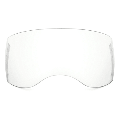 (Oakley Aviator Half Shield - Clear)