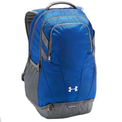 Royal/Grey/Grey (Under Armour Team Hustle 3.0 Hockey Backpack)
