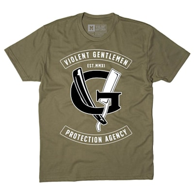 (Violent Gentlemen Agency Tee - Military Green - Mens)