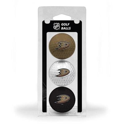 (Anaheim Ducks Golf Ball - 3 Pack)