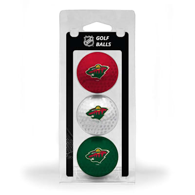 (Minnesota Wild Golf Ball - 3 Pack)