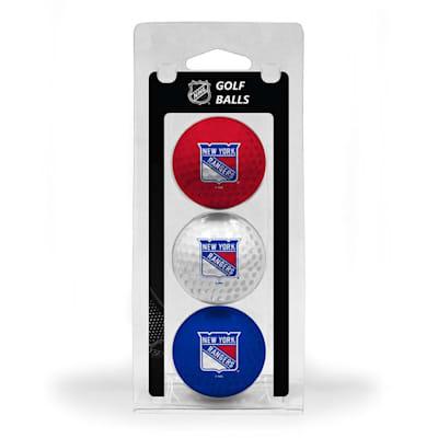 (New York Rangers Golf Ball - 3 Pack)