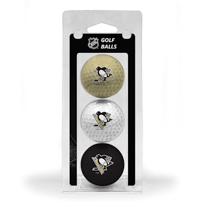 (Pittsburgh Penguins Golf Ball - 3 Pack)