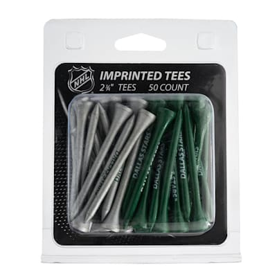 (Dallas Stars Golf Tees - 50 Pack)