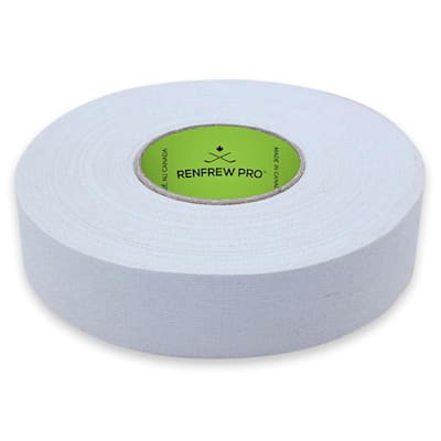 White (Renfrew Cloth Hockey Tape 1-inch - White)