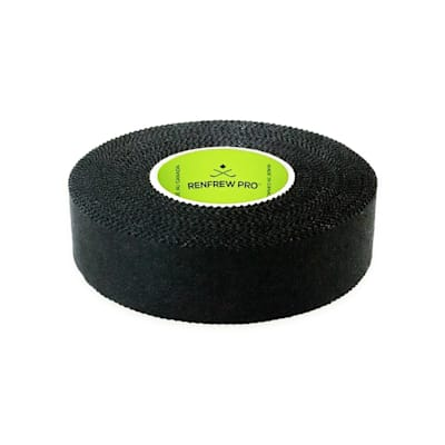 (Renfrew Cloth Hockey Tape 1-inch - Black)