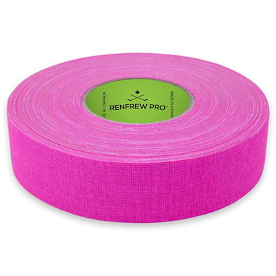 Bright Pink (Renfrew Cloth Hockey Tape 1-inch - Bright Color)