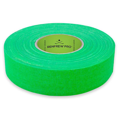 Bright Green (Renfrew Cloth Hockey Tape 1-inch - Bright Color)