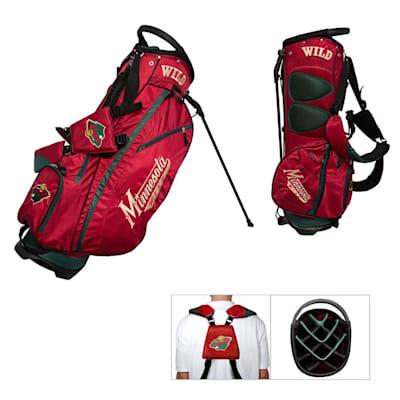 (Minnesota Wild Fairway Golf Stand Bag)