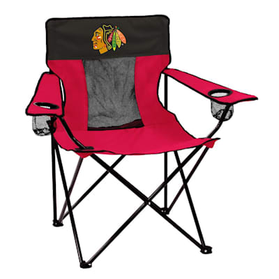 NHL Elite Chair Blackhawks (Logo Brands Chicago Blackhawks Elite Fold Out Chair)