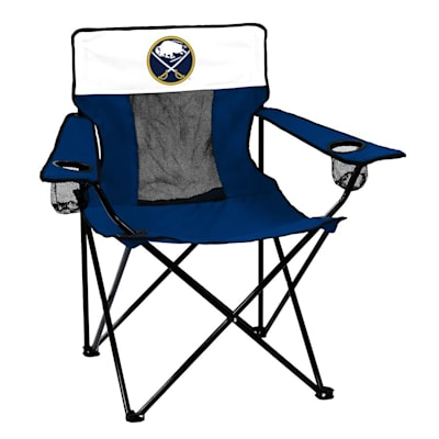 NHL Elite Chair Sabres (Logo Brands Buffalo Sabres Elite Fold Out Chair)