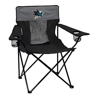 NHL Elite Chair Sharks (Logo Brands San Jose Sharks Elite Fold Out Chair)