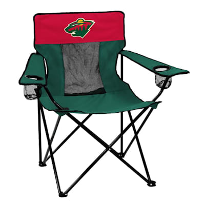 NHL Elite Chair Wild (Logo Brands Minnesota Wild Elite Fold Out Chair)
