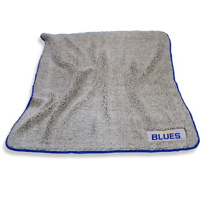 Frosty Blanket Blues (Logo Brands St. Louis Blues Frosty Fleece Blanket)