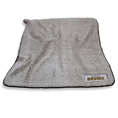 Frosty Blanket Bruins (Logo Brands Boston Bruins Frosty Fleece Blanket)