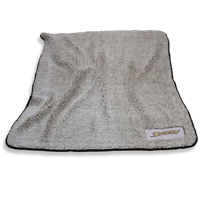Frosty Blanket Ducks (Logo Brands Anaheim Ducks Frosty Fleece Blanket)