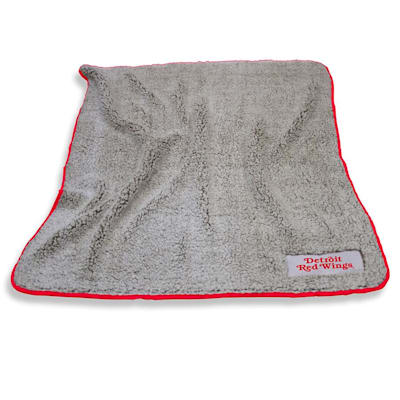Frosty Blanket Red Wings (Logo Brands Detroit Red Wings Frosty Fleece Blanket)