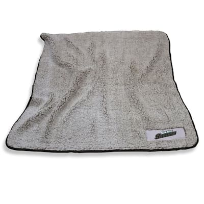 Frosty Blanket Sharks (Logo Brands San Jose Sharks Frosty Fleece Blanket)