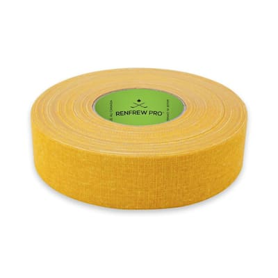 Yellow (Renfrew Cloth Hockey Tape - 1-inch - Solid Colors)