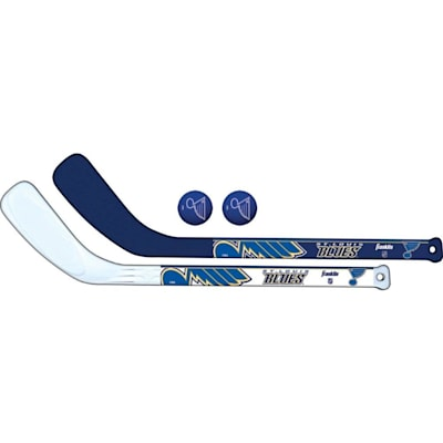 (Franklin NHL Mini Hockey Stick Set - St. Louis Blues)