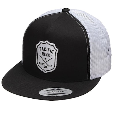 (Pacific Rink Sheriffs Trucker Cap - Black - Adult)