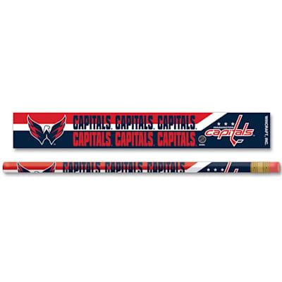 Pencils 6-Pack Capitals (Wincraft Washington Capitals Pencils - 6 Pack)