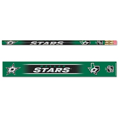 Pencils 6-Pack Stars (Wincraft Dallas Stars Pencils - 6 Pack)