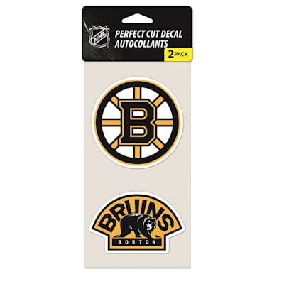 Perfect Cut Decal 2Pk Bruins (Wincraft NHL Wincraft Perfect Cut Decal - Boston Bruins 2 Pack)