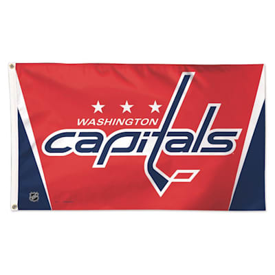 NHL 3x5 Flag Capitals (Wincraft NHL 3' x 5' Flag - Washington Capitals)