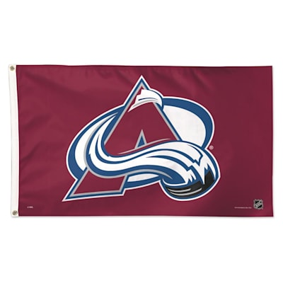 NHL 3x5 Flag Avalanche (Wincraft NHL 3' x 5' Flag - Colorado Avalanche)
