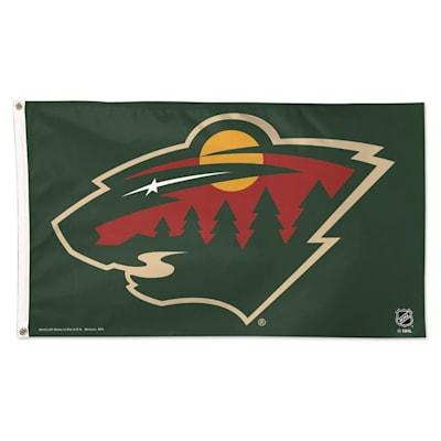 NHL 3x5 Flag Wild (Wincraft NHL 3' x 5' Flag - Minnesota Wild)