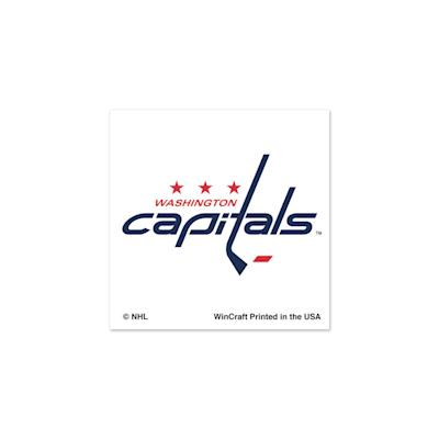 NHL 4PK Tattoo Capitals (Wincraft Washington Capitals Tattoo - 4 Pack)