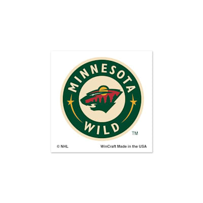 NHL 4PK Tattoo Wild (Wincraft Minnesota Wild Tattoo - 4 Pack)