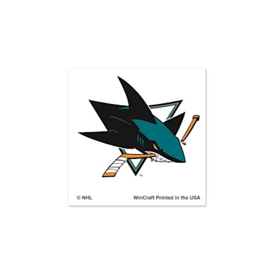 NHL 4PK Tattoo Sharks (Wincraft San Jose Sharks Tattoo - 4 Pack)