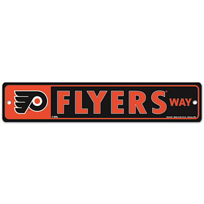 NHL Street Sign Flyers (Wincraft Philadelphia Flyers Street Sign)
