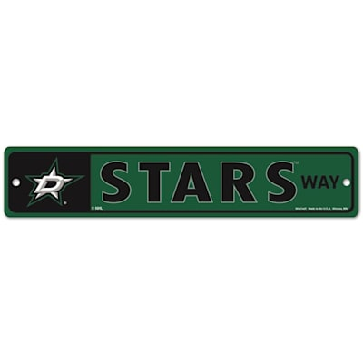 NHL Street Sign Stars (Wincraft Dallas Stars Street Sign)