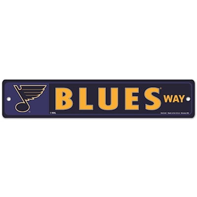 NHL Street Sign Blues (Wincraft St. Louis Blues Street Sign)