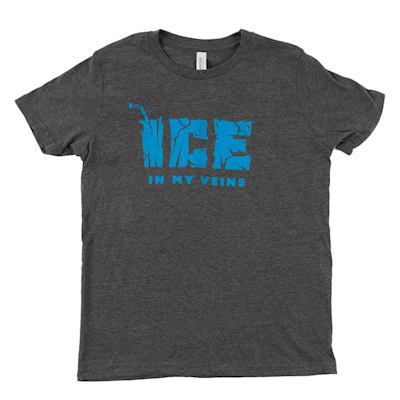 Grey (PlusMinus Ice in My Veins Youth Tee Shirt - Youth)