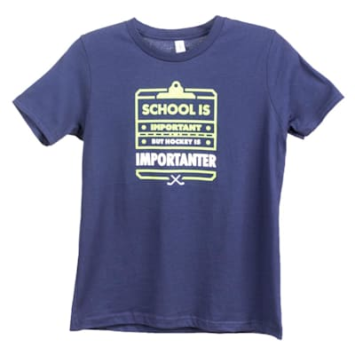 Front (PlusMinus School Is Important Youth Tee - Youth)