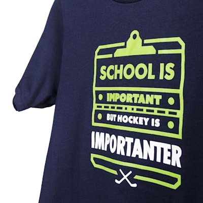 Graphic (PlusMinus School Is Important Youth Tee - Youth)