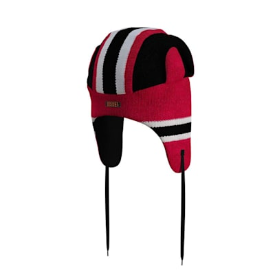 (Hockey Sockey New Jersey Devils Reversible Trapper Hat - Adult)