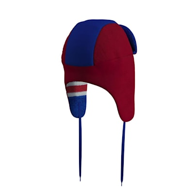 (Hockey Sockey New York Rangers Reversible Trapper Hat - Adult)