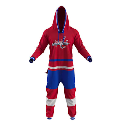 Washington Capitals Onesie (Hockey Sockey Washington Capitals Onesie - Adult)
