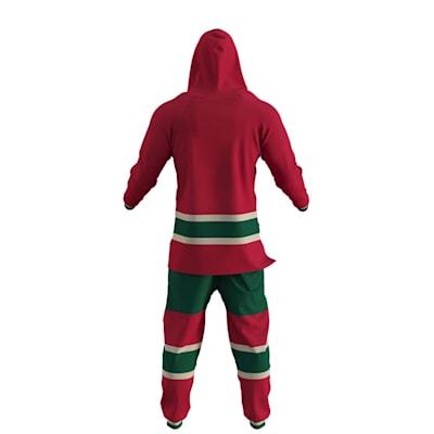 Minnesota Wild Onesie (Hockey Sockey Minnesota Wild Onesie - Adult)