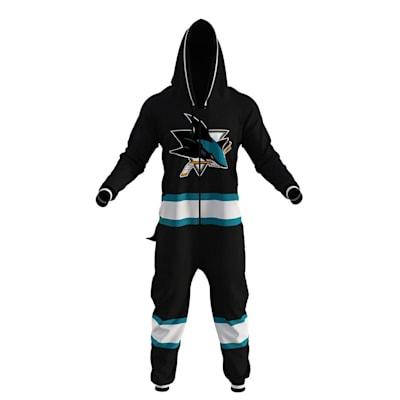 San Jose Sharks Onesie (Hockey Sockey San Jose Sharks Onesie - Adult)