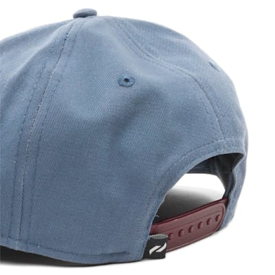 Back (Pure Hockey Slate Flat Brim Snapback Hat - Adult)