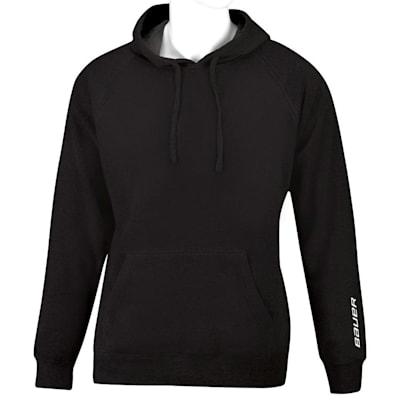 Black (Bauer Core Fleece Hoody - Youth)