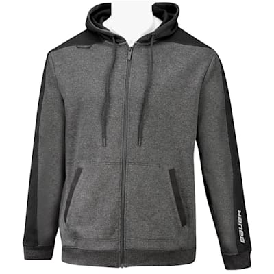 (Bauer Premium Fleece Full Zip Hoody - Adult)