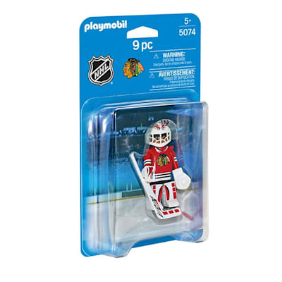 Chicago Blackhawks Playmobil Goalie Figure (Playmobil Chicago Blackhawks Goalie Figure)